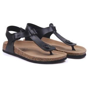 Image 5 - COSMAGIC Fashion Cork Sandals 2020 New Women Summer Buckle Strap Solid Non slip Beach Sandalias Shoe