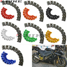 10X 6MM Motorcycle Accessories Fairing body work Bolts FOR XJR FJR 1300 1200 FZR 1000 TMAX 530 500 TMAX530 TMAX500 2012 2013
