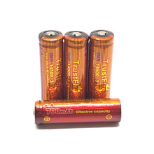 8pcs/lot Trustfire IMR 14500 3.7V 700mAh Lithium High Drain Rechargeable Battery Batteries For Led flashlights Torch