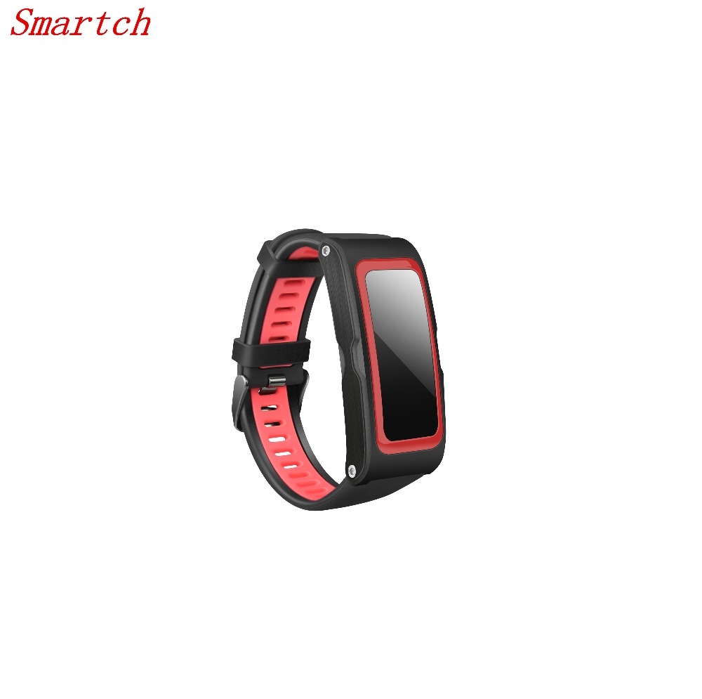 Smartch 2017 NEW T28 Sport Tracker Smart Band Pressure Temp GPS Heart Rate Monitor Activity tracker