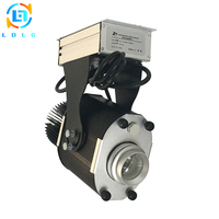 Clearance Selling 110V 220V 30W LED Gobo Projector Indoor 30W LED Rotary Image Custom Logo Gobo Projector Ceiling Light Indoor