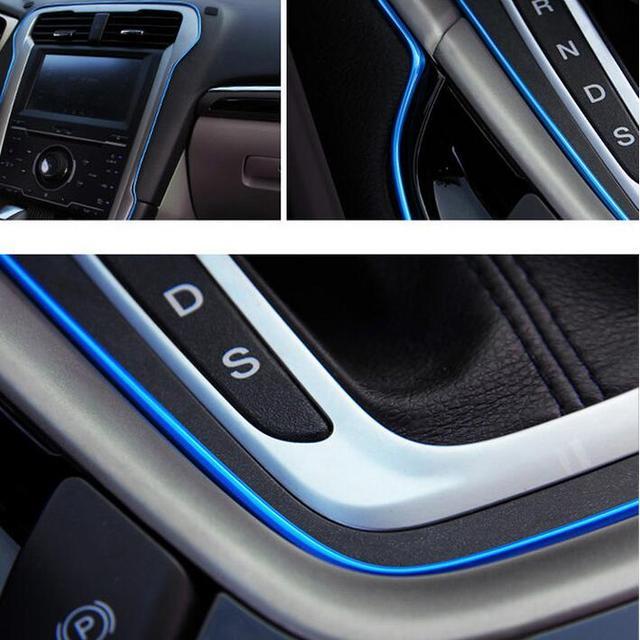 Car styling Gap decoration thread sticker For DACIA SANDERO STEPWAY ...