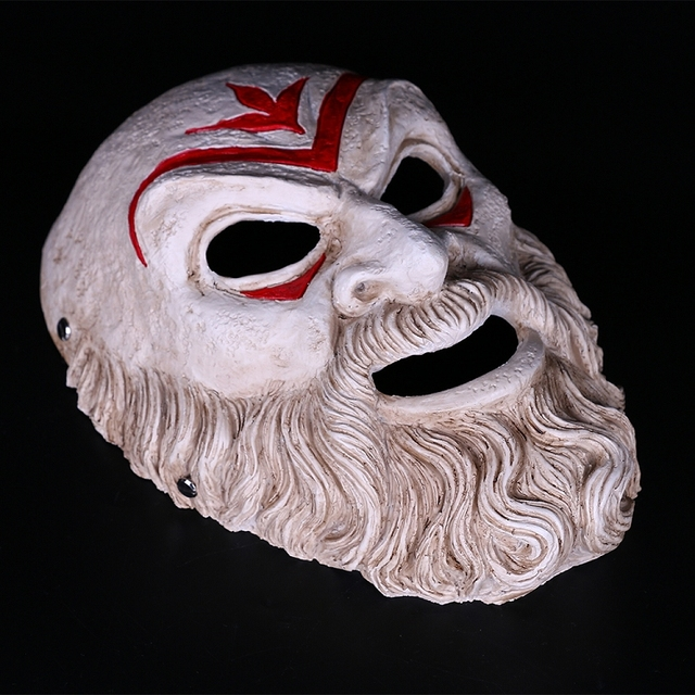 Assassin Creed Odyssey Villain Master Cosplay Resin Mask Halloween Party Mask 1