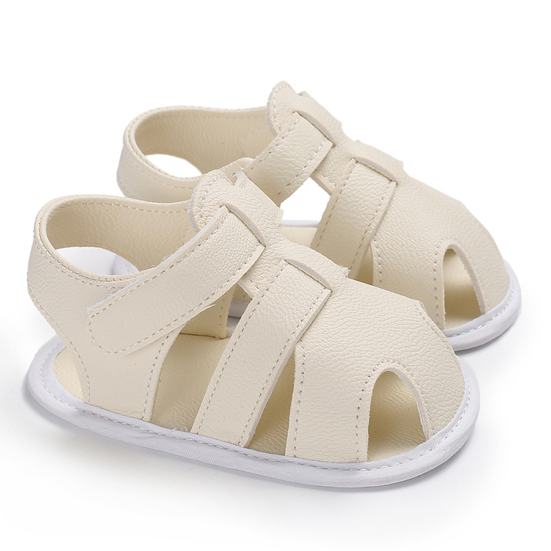 Baby Sandals UK Toddler Newborn Baby Unisex Boy Girl Soft Sole Shoes Leather Sandles Prewalker High Quality Leather Hot Selling