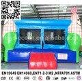 4X4 m maíz casa gorila inflable para niños saltando divertido