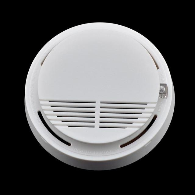 High Sensitivity Stable smoke detector fire alarm Photoelectric Sensor Home Security System with high quality
