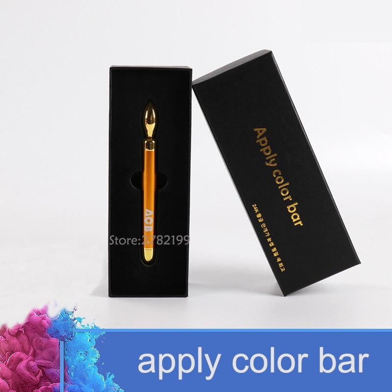 Analitico Sopracciglio Del Tatuaggio Applycolorbar24k Oro Colore Nebbia Misuratore Di Vibrazioni Oro Ioni Di Oro Puro Regalo Ideale Per Tutte Le Occasioni