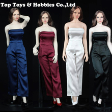 VORTOYS V1012 1/6 Womens Female Sexy One-Piece Pants Set  5colors clothing set for 12 Action Figure Doll Toys Accessories