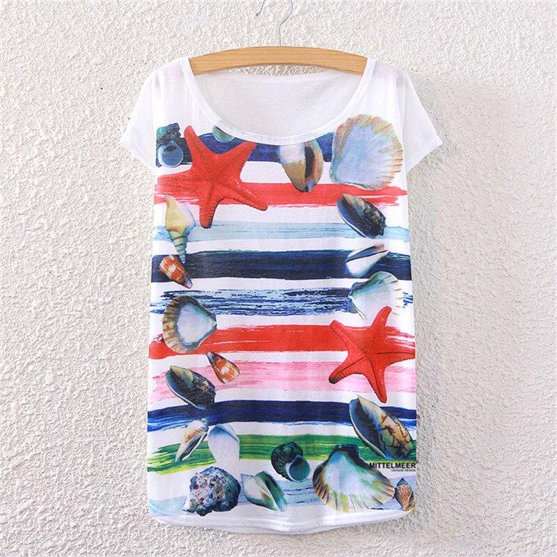 Harajuku T-shirt Women Tshirt Cotton Short Sleeve Tops Harajuku Summer Tumblr T shirt Wome Cat print 15 colors Summer Tee Shirt