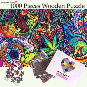MOMEMO Dream World Jigsaw Wooden Puzzle 1000 Pieces Puzzles Toys Adults Puzzle Games Education Wooden Toy for Childen Home Decor платье dream world dream world mp002xw0tob7