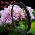 KnightX 52 мм 58 мм 67 мм Мягкий фильтр Для nikon canon d3200 d5200 d3300 d5100 1200d камеры 400D 450D D3000 D7000 D5 P600 линзы