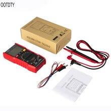 OOTDTY M20 Digital Multimeter 6000 Counts Esr Meter True RMS Voltmeter NCV Frequency Temperature Battery Tester Auto Range все цены