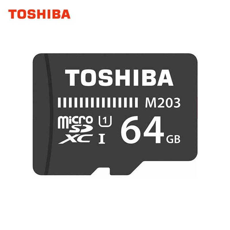 TOSHIBA Memory Card Micro SD 128GB 64GB Class 10 Micro SD Card U1 UHS-I TF Cards usb flash card Microsd Waterproof New все цены