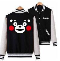 Phim hoạt hình gấu dễ thương kumamon cosplay costume cat lolita panda anime chơi bóng chày trường boy cô gái hoodie jacket cosplay hoodies