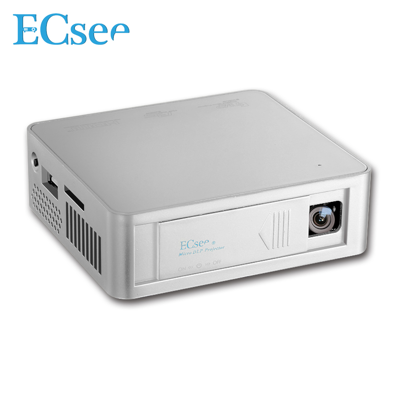 Buy ecsee es130 854x480 full hd1080p dlp for Portable projector with hdmi input