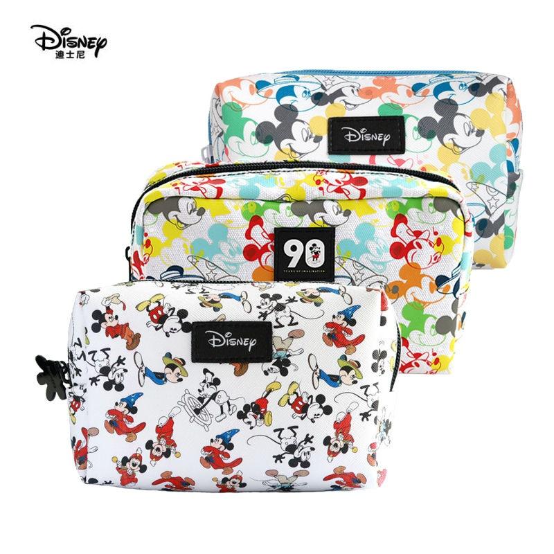 Genuine Disney Mickey Minnie Mouse Bag Multi-function Mommy Travel Bag Cosmetic Storage Wallet Handbag Children Toy Plush Doll