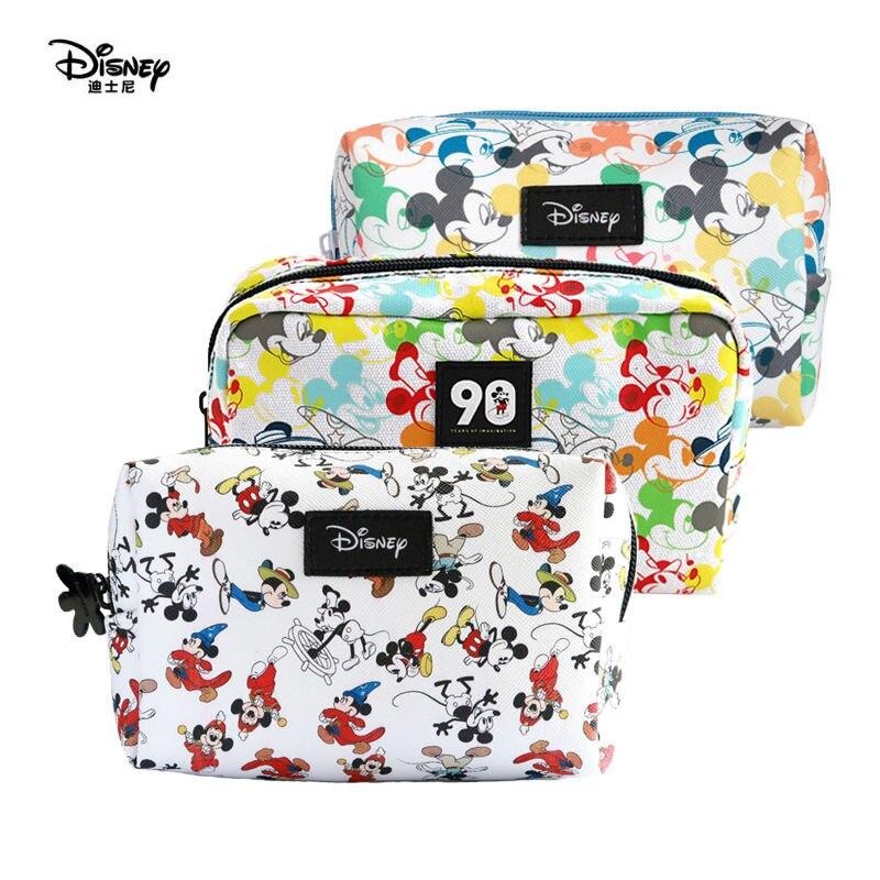 Véritable Disney Mickey Minnie Mouse sac multi-fonction maman sac de voyage cosmétique stockage portefeuille sac à main enfants jouet en peluche poupée