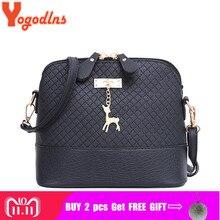 4121f44ca4e1 Yogodlns новая женская сумка из искусственной кожи высокого качества с  мягким лицом женская сумка дикая сумка