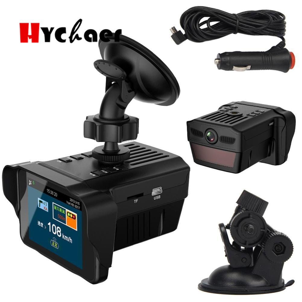 Globally Universal Traffic Recorder Mobile 2 in1 1080P Speed anti Radar 3 City Mode 1 Highway