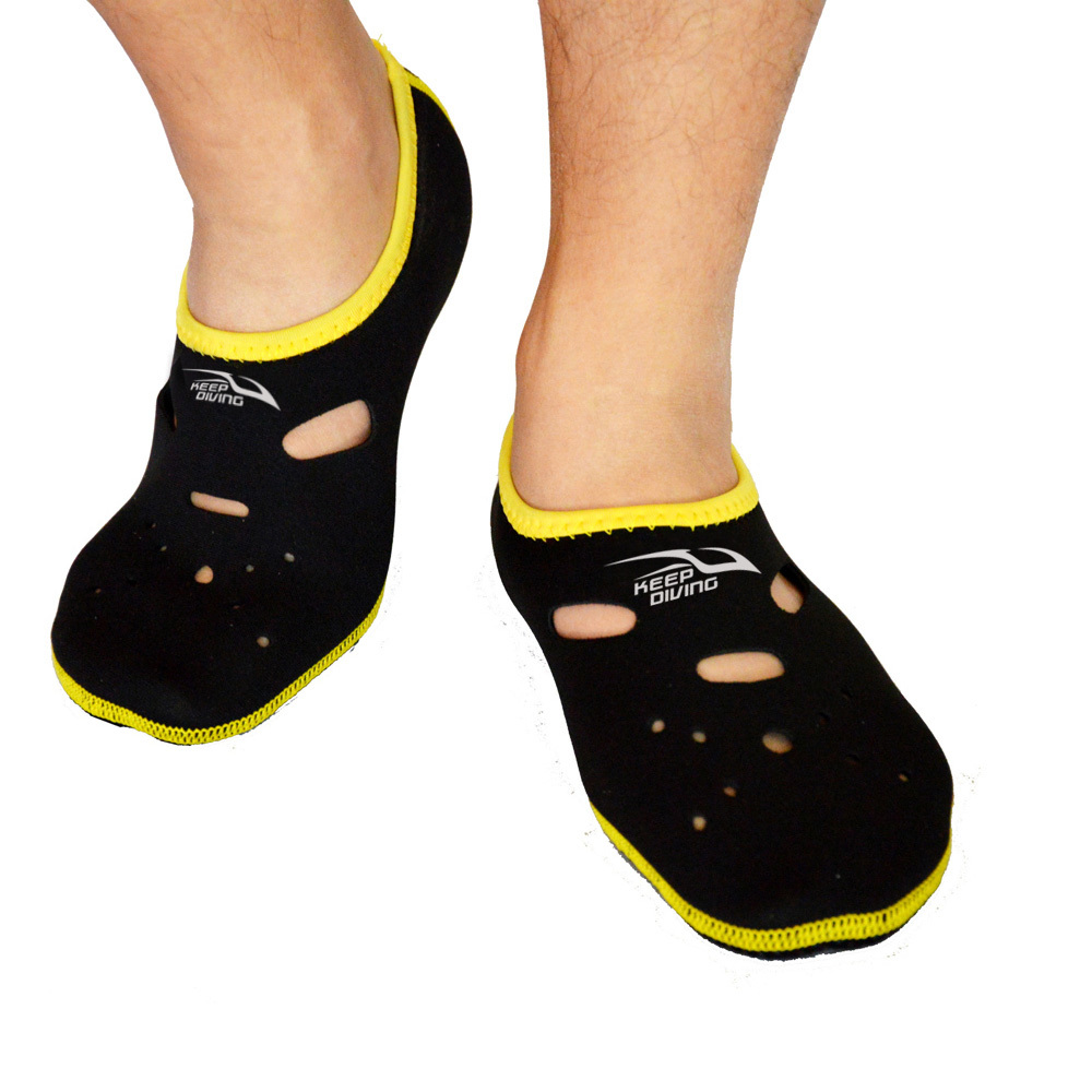 KEEP DIVING Sport acquatici Neoprene Calzini da nuoto Anti Skid Beach Sock Nuoto Surfing Calzini in neoprene Calzature da immersione per adulti Scarpe bagnate