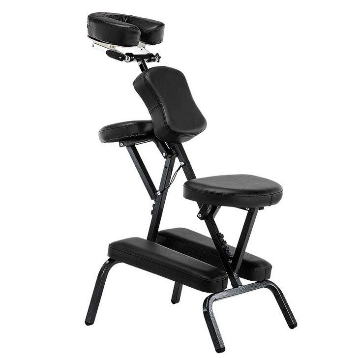 Multipurpose Portable Fold Adjustable Leather Pad Massage Chair Salon Furniture Tattoo Massage Spa Chair portable beauty massage tattoo chair multi functional tattoo stool