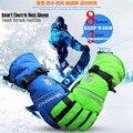 5600 MAH Inteligente de Pantalla Táctil Guantes Eléctricos Calefactables, Al Aire Libre Del Deporte de Esquí de Batería de Litio de 5 Dedos y la Mano de Nuevo Auto calefacción, 3 Engranajes 4-8 H