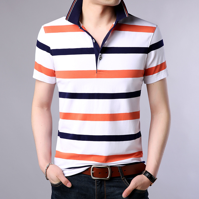 Jbersee High Quality Brand   Polo   Shirt Men New Summer Casual Striped Cotton Mens   Polo   Shirts Ralph Lauren Men Camisa   Polo   Homme