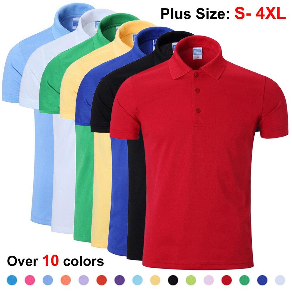 NIGRITY Mens Polo Shirt Casual Solid Polo Shirt Men Short&Long Sleeve Polo Shirt Male DIY Logo(min10 Pieces To Customize Logo)