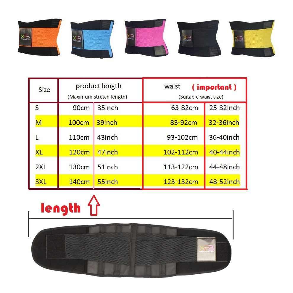 Fitness Gürtel Xtreme Power Thermo Taille Trainer Trimmer Korsett Taille Gürtel Workout Wear Abnehmen Modellierung Gürtel Faja Gürtel