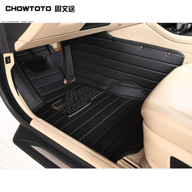 Chowtoto Custom Special Floor Mats For Ford F  Doors Durable Waterproof Carpets For Ford