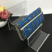 3 Camadas De Plástico Saco Da Bolsa Da Carteira Livro Produtos Sinal Display Rack de Titulares de Stands Para Loja de Varejo