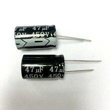 Condensateur électrolytique en aluminium, 22UF, 33UF, 47UF, 100UF, 1000UF, 3300UF, 6800 V, 10000 V, 450V, 400V, 63V, 35V, 25V, 16V, 250V, 16x25MM
