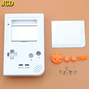 Image 2 - JCD Cho GBP Tay Cầm Nhựa Toàn Vỏ Vỏ Bao Da Thay Thế Cho Gameboy Bỏ Túi Game Vỏ Ốp Lưng Có Nút Bấm Bộ