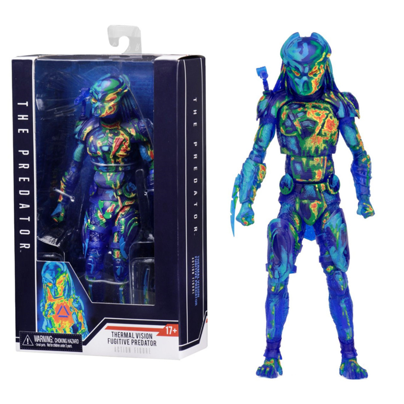 Speelgoed Predator Action Figures Brinquedos Pop PVC Alien Hunter Anime Beeldje Collectible Decoration Gift Predator Figuras XM
