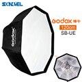 Godox 120 см портативный восьмиугольный Зонт софтбокс SB-UE 120 см/47 дюймов с креплением Bowens для Speedlite
