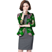 African Print Women Suit Jacket Fashion Africa Festive Ladies Formal Blazers Coat Ankala African Women Clothing Party Cutomize