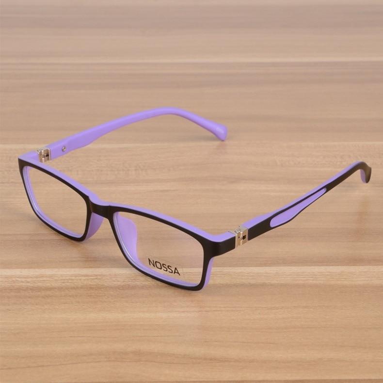 Kids Eyeglasses Barn Unbreakable TR90 Glasses Frame Optiska - Kläder tillbehör - Foto 5