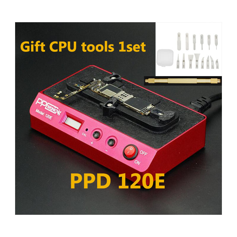 220V PPD 120 Desoldering Rework Station Unsolder For IPhone PPD120 Motherboard CPU Chip A8 A9