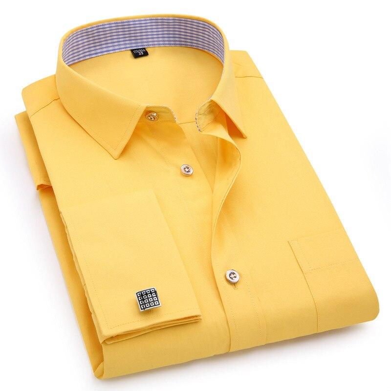 X-Future Mens Chest Pocket Regular Fit Stripe Long Sleeve Lapel Collar Button Down Blouse Shirt Tops