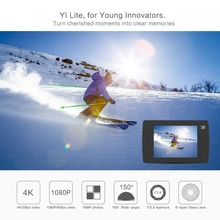 Xiaomi YI Lite Action Camera 16MP Real 4K Sports Camera