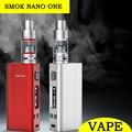 Original smok nano uno vape 80 w caja mod cigarrillo electrónico kit nano tfv4 tanque