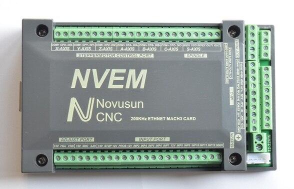 4 Axis CNC 200KHZ ETHNET Internet Mach3 Card Stepper motor Controller Board PWM NVME sheriff pwm 200 в китае