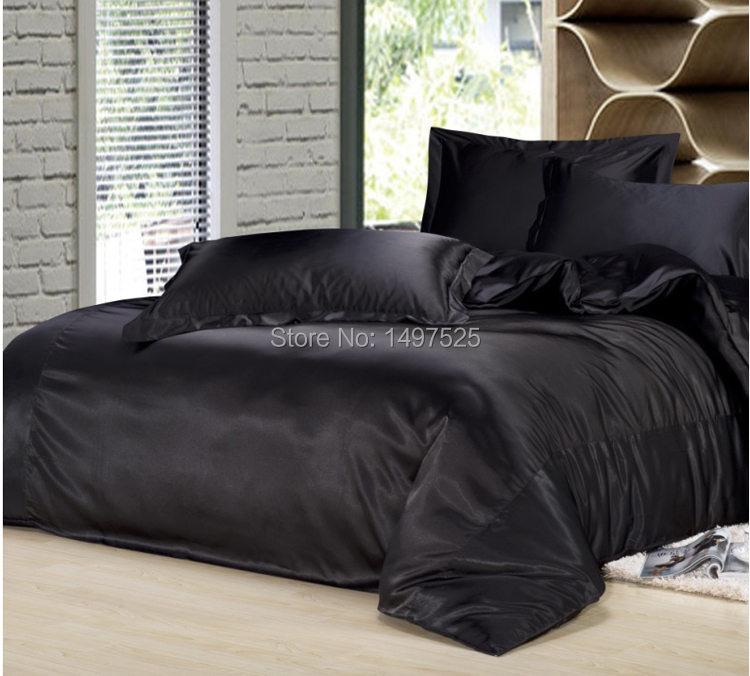new style silk bedding sets reactive printing twin full
