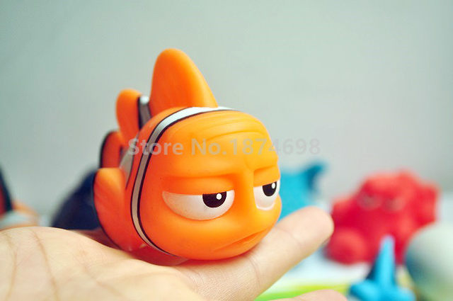online shop new finding dory baby bath toy set of 7 dory nemo marlin
