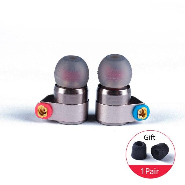 Gorąca sprzedaż cyny Audio T2 w ucho słuchawka podwójny dynamiczny napęd HIFI bas słuchawki DJ Metal 3.5mm słuchawki zestaw słuchawkowy z MMCX