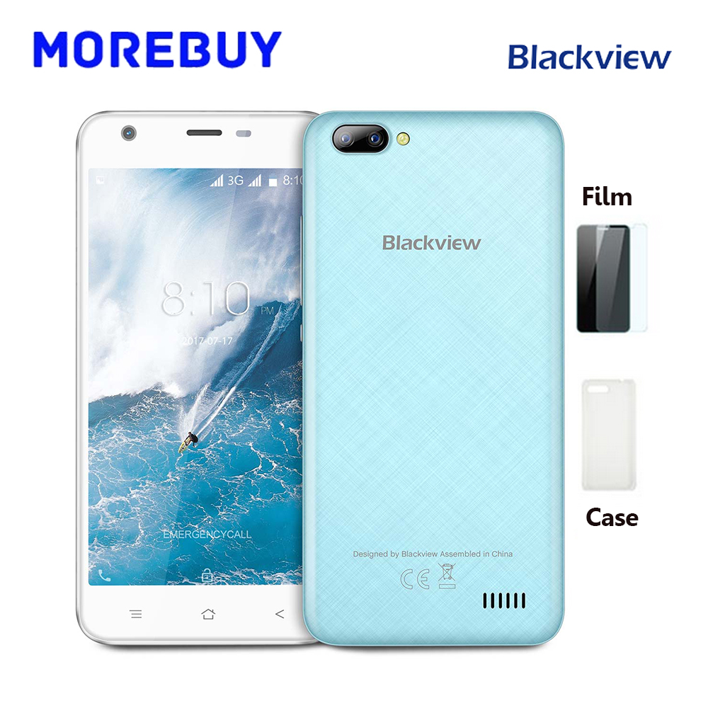 Blackview A7 Smartphone Dual Rear Cameras MT6580A Quad Core 1 3GHz 1G RAM 8G ROM Android