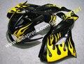 Для Yamaha YZF1000R Thunderace YZF-1000R 1997-2007 желтое пламя YZF 1000 R 97-07 ABS Пластиковые обтекатели кузова мотоцикла