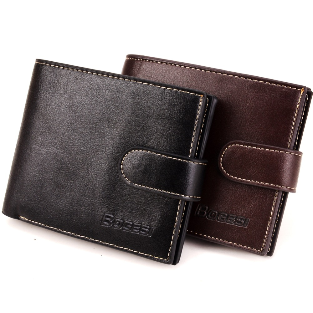 Luxury quality New 2018 men business wallets & Purses Short Pu leather Coin Purse Small mini Multifunction Money bag