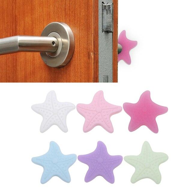 Topes de puertas para pared en varios colores