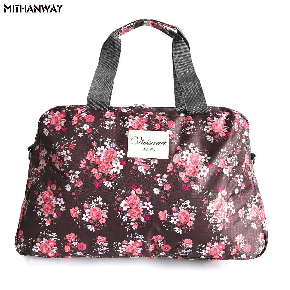 Для женщин леди большой Ёмкость цветочный Duffel Мужская тотализаторов спортивная сумка Многофункциональный Портативный Спорт Путешествия Чемодан тренажерный зал Фитнес сумка 5 цветов